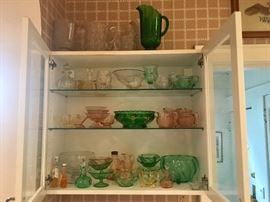 Heisey glass collection