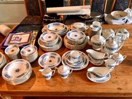"COALPORT ""Revelry"" Service for 18 PLUS lots of serving pieces"