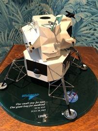 Authentic Apollo Lunar Module model c.1969 from Grumman in original box