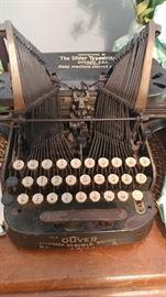 Vintage Oliver typewriter #3