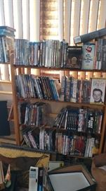 "an ""Unbelievable collection of unopened DVD's, VHS and Laser Disc"