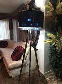 3 pole lamp. Living room show piece