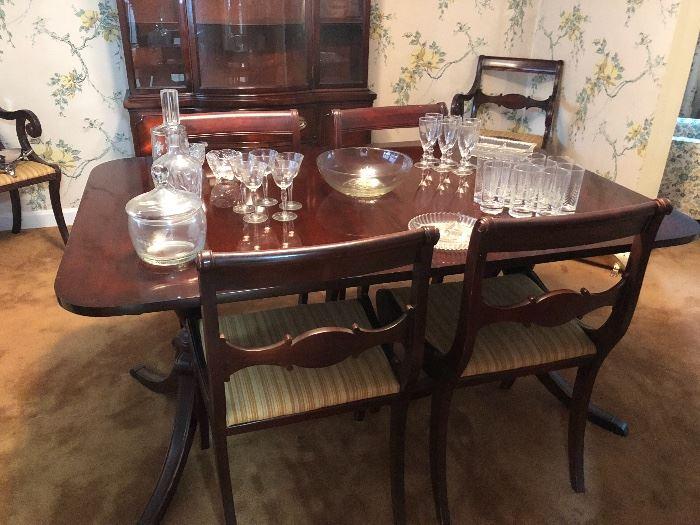 Vintage Drexel Dining Room Set