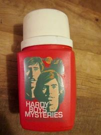 Hardy Boys thermos bottle.