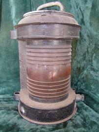 Marine lantern.