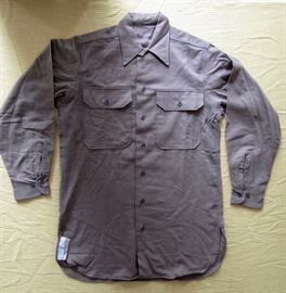 US ARMY shirt, WWII.