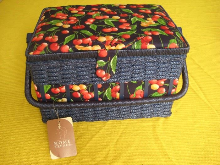 Sewing basket (new).