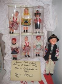 Czech dolls. - new old stock.