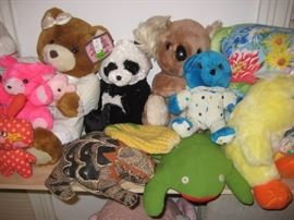 New stuffed bears and others.