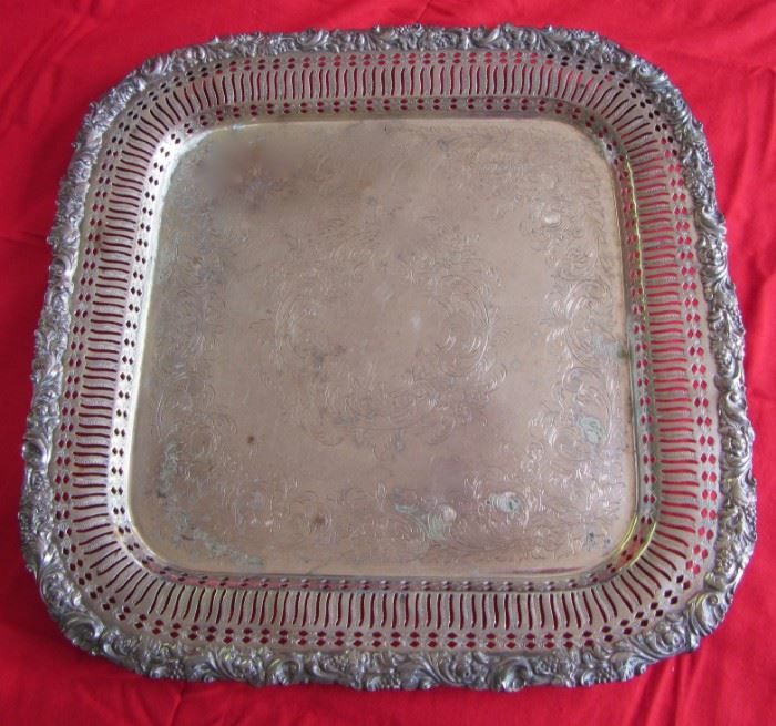 Silver Plate Tray by Imperial.