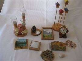 Misc Lot of home decor / Approx 9 pieces