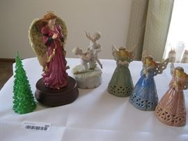 Lot of Angel Figurines / Approx 3 pieces