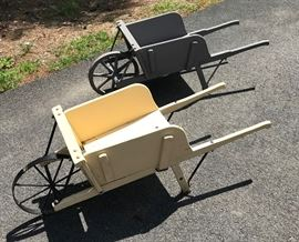 Amish Wheelbarrows       http://www.ctonlineauctions.com/detail.asp?id=749505