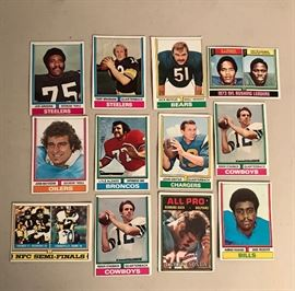 Vintage  Sports Collector Trading Cards