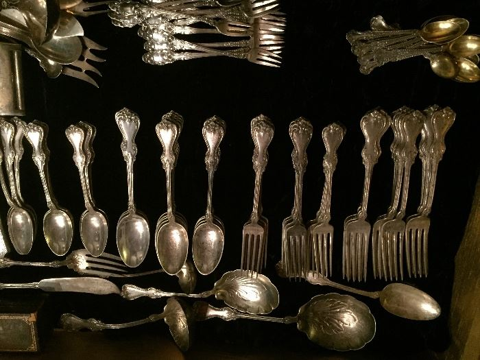 Assorted Sterling Silver Flatware and  Collectibles