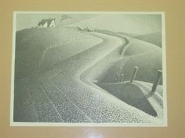 """March"" by Grant Wood (Bid Item)"