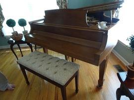 Steinway M Baby Grand Piano