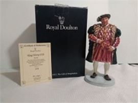 "Royal Doulton ""King Henry VIII"" Figurine"