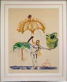 Art Dali Anti Umbrella
