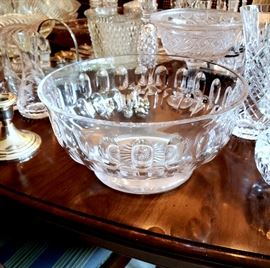 """William Yeoward """"Victoria"""" footed bowl"""