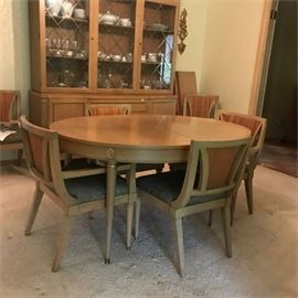 Mid-Century Morganton Dining Table and Chairs