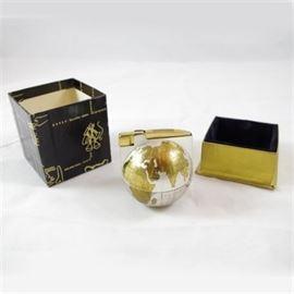 Mid-Century Shaw-Barton Promotional Globe Table Lighter
