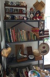 more books and mugs