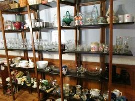 Glassware, Bowls, Decorations, Shot Glasses, Lidded Dishes, Baskets