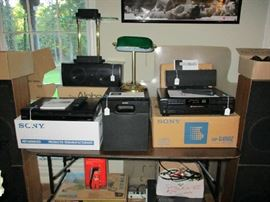 Sony, Atlantic, PSB Sound Speakers