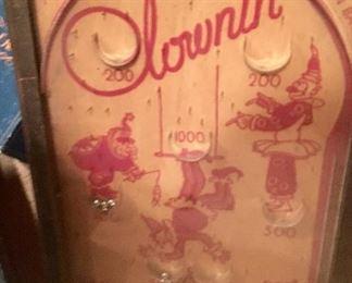 1930's Vintage Clownin' tabletop game