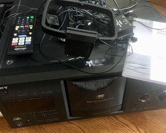 Sony cd/ dvd explorer 400 changer