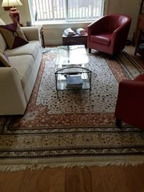 100% wool handknotted Persian Rug