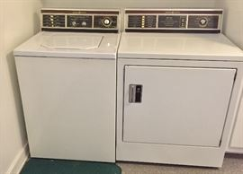 GE washer and dryer- both work perfectly