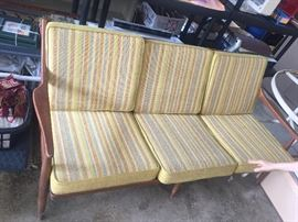 Beautiful mid century modern sofa...upholstery like new