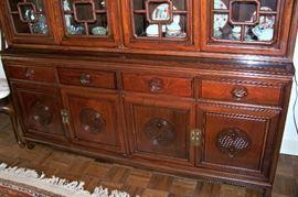 Base of cabinet