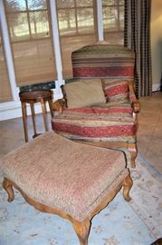 Another great chair w/ottoman