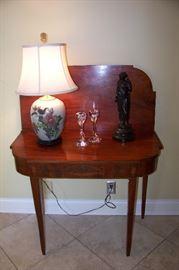 Card table, mahogany