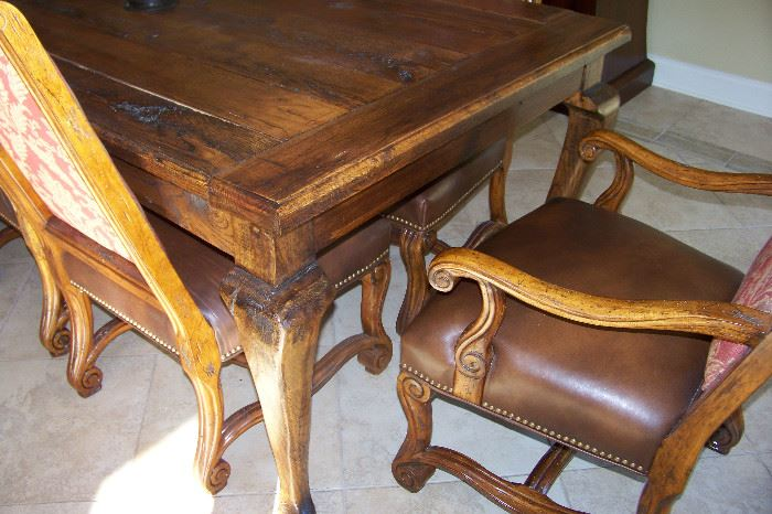 Table is handmade -