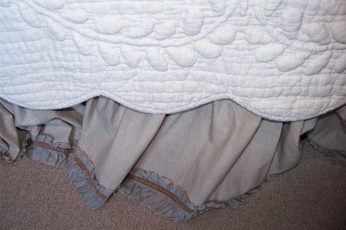 Note edges of the skirt