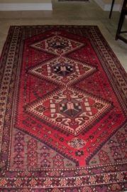 "Good oriental rug, 10'6""  X 2' 8"""