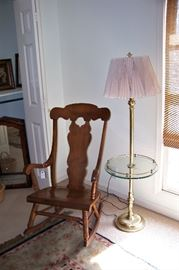 Maple rocking chair - very nice!