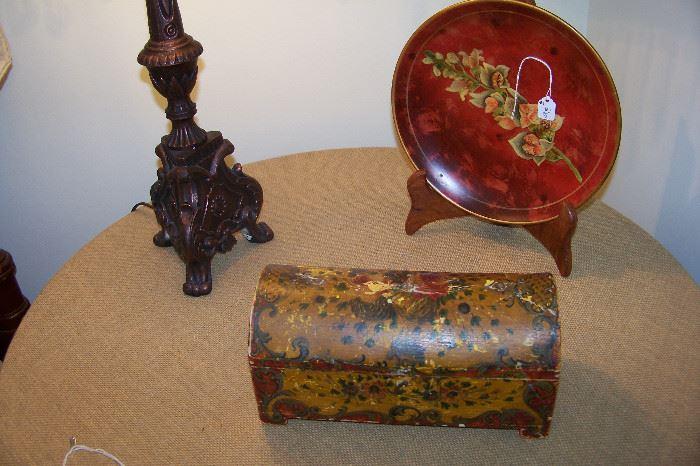 Early Italian box