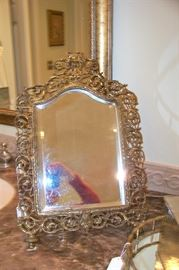 Ornate dresser mirror