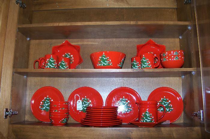 German Christmas china