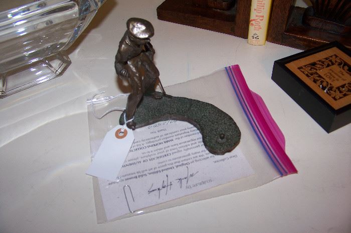 """Mark Hopkins bronze """"Birdie"""""""