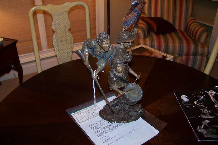 Mark Hopkins bronze