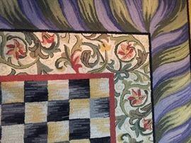 9' x 12' MacKenzie-Childs rug