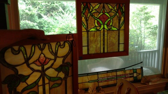 Stained glass windows  OLD