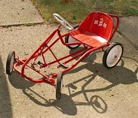 1960's TOT ROD Pedal Car