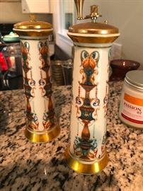 Antique Lenox salt and pepper grinder